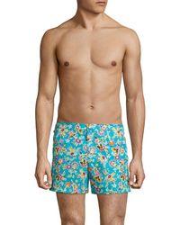 T. Christopher - Floral Newport Swim Short - Lyst