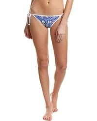 Shoshanna - String Bikini Bottom - Lyst