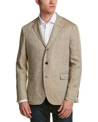 Brooks Brothers - 1818 Red Fleece Herringbone Blazer - Lyst