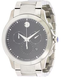 Movado - Masino Black Dial Chronograph Watch 0607037 - Lyst