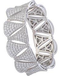 BVLGARI - Bulgari Diva's Dream 18k 16.90 Ct. Tw. Diamond Bracelet - Lyst
