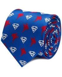 Star Wars - Dc Comics Superman Blue Tie - Lyst