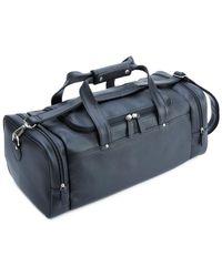 Royce - Leather Travel Leather Duffel Bag - Lyst