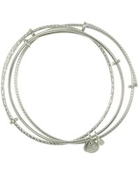 ALEX AND ANI - Set Of 3 Expandable Bracelets - Lyst