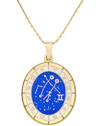 ALEX AND ANI - Celestial Gemini Wheel Expandable Necklace - Lyst