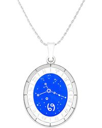 ALEX AND ANI - Celestial Cancer Wheel Expandable Necklace - Lyst