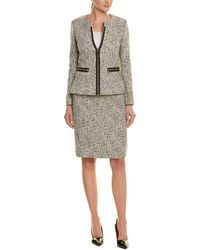 Tahari - Tahari Asl 2pc Skirt Suit - Lyst