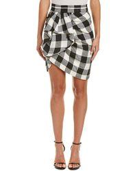 WHIT - Silk-blend Pencil Skirt - Lyst