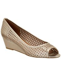 French Sole - Necessary Leather Wedge - Lyst