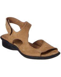 Arche - Sakari Leather Wedge Sandal - Lyst