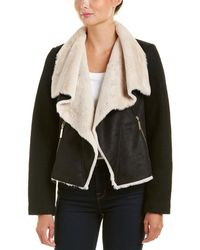 Betsey Johnson - Betsy Johnson Wool-blend Coat - Lyst