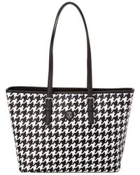 CXL by Christian Lacroix - Chantal Houndstooth Tote - Lyst