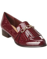 Tahari - Langley Patent Loafer - Lyst