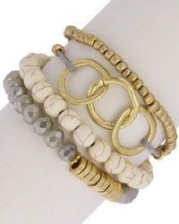 Saachi - Bracelet Set - Lyst