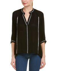 Lost In Lunar - Embroidered Top - Lyst