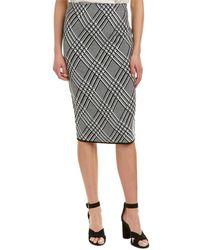 Trina Turk - Robertson Wool-blend Skirt - Lyst