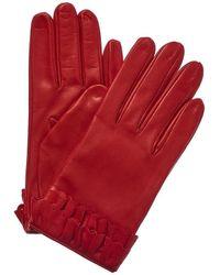 Portolano - Autumn Russet Silk-lined Leather Gloves - Lyst