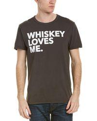 Chaser - Whiskey Loves Me T-shirt - Lyst