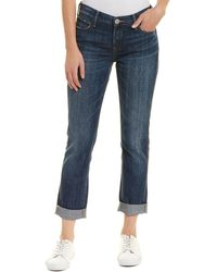 True Religion - Cameron Vintage Hard Press Boyfriend Cut - Lyst