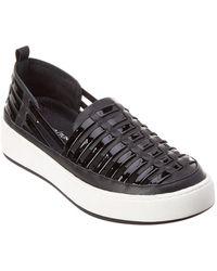 Donald J Pliner - Cierra Leather Sneaker - Lyst