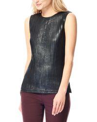 ecru - Leather Shell - Lyst
