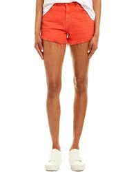 7 For All Mankind 7 For All Mankind Wild Poppy High-rise Short