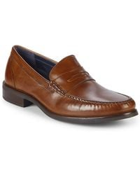 Cole Haan - Pinch Sanford Leather Penny Loafers - Lyst