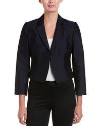 Hobbs - Wool & Silk-blend Topper - Lyst