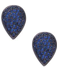 Socheec - Color Stone Jewelry 14k & Silver 0.75 Ct. Tw. Gemstone Studs - Lyst