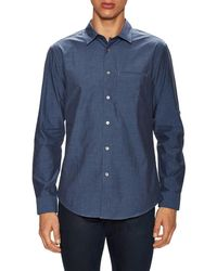 John Varvatos - Collection Slim Fit Adjustable Sleeves Sportshirt - Lyst