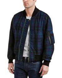 Burberry - Hawton Reversible Check Cotton And Nylon Bomber Jacket - Lyst