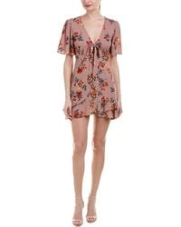 Cotton Candy - Floral Shift Dress - Lyst