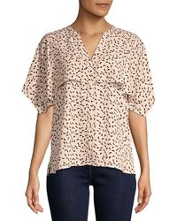 Vince Camuto - Multi-dots Cape Over Top - Lyst