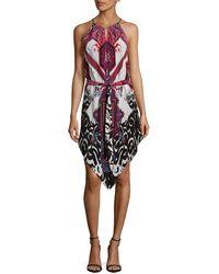 Robert Graham - Kameli Printed Silk Dress - Lyst