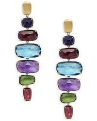Marco Bicego - Murano Multi-stone & 18k Gold Earrings - Lyst