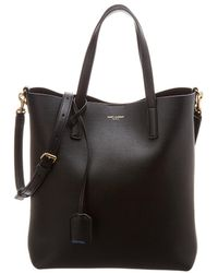 Saint Laurent - Toy Leather Shopping Tote - Lyst