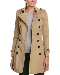 Burberry - Chelsea Mid-length Heritage Trench Coat - Lyst