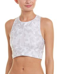 Betsey Johnson - Camo Animal-print Sports Bra - Lyst
