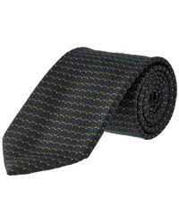 Ermenegildo Zegna - Green Squares Silk Tie - Lyst