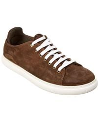 Donald J Pliner - Pierce Suede Trainer - Lyst