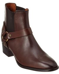 Frye - Dara Harness Leather Chelsea Boot - Lyst