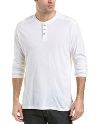 AG Jeans - Remi Cashmere-blend Henley - Lyst