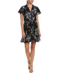 Cinq À Sept - Quincy Floral Silk Wrap Dress - Lyst
