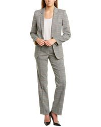 Tahari - Tahari Asl 2pc Pant Suit - Lyst
