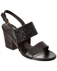 Isola - Lia Leather Sandal - Lyst