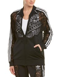 Stella McCartney - Adidas 3-stripe Lace Jacket - Lyst