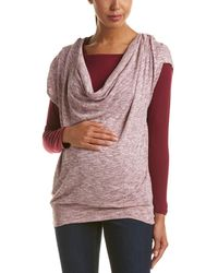 Everly Grey - Maternity Becka Top - Lyst