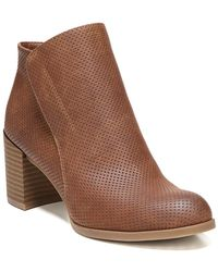 Naturalizer - Holt Leather Bootie - Lyst