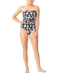 Anne Cole - Shirred One-piece - Lyst