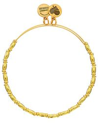 ALEX AND ANI - Stainless Steel Reed Expandable Bracelet - Lyst